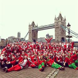 Santa  Pub  Crawl  London