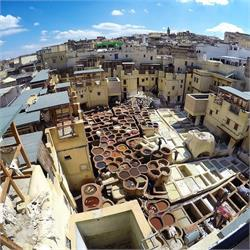 The  Leather  Tanneries  Fez  Morocco