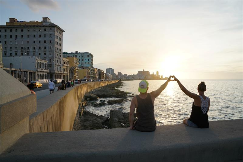 Aug 2017 - Sunset from  Malecon