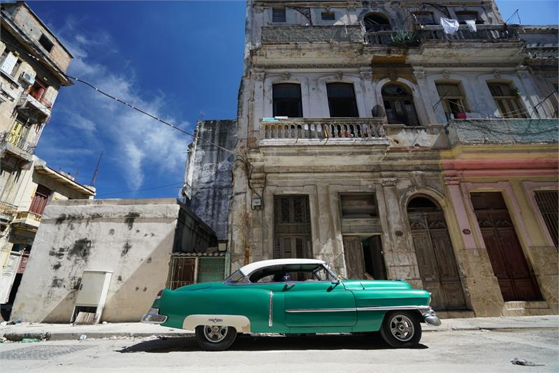 Sep 2017 - Vintage car in  Havana (4)