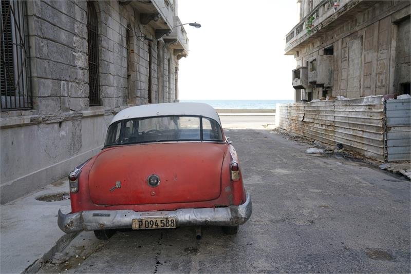 Aug 2017 - Vintage car in  Havana (5)