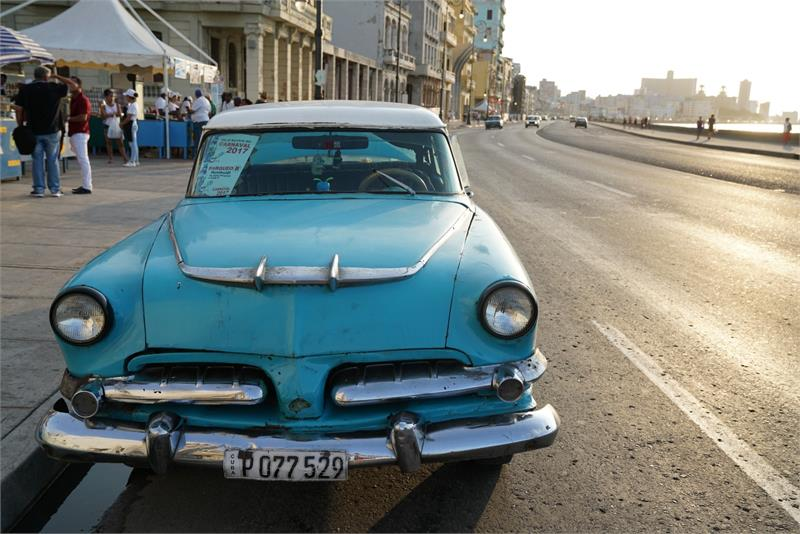 Aug 2017 - Vintage car in  Havana (6)
