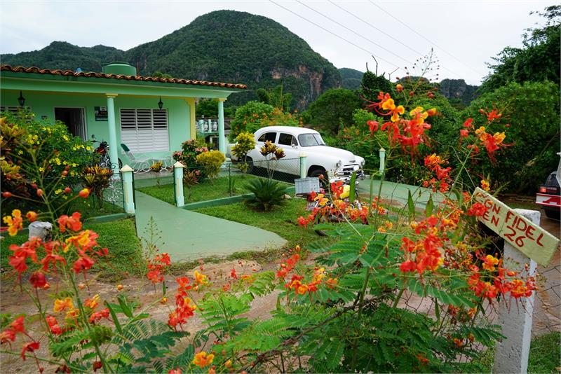 Aug 2017 - Local houses in  Vinales