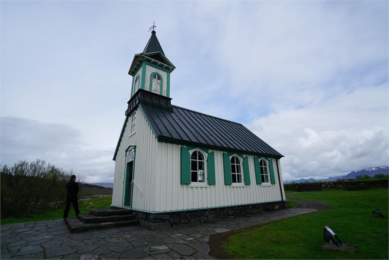 May 2017 - Church in  Thingvellir  National  Park