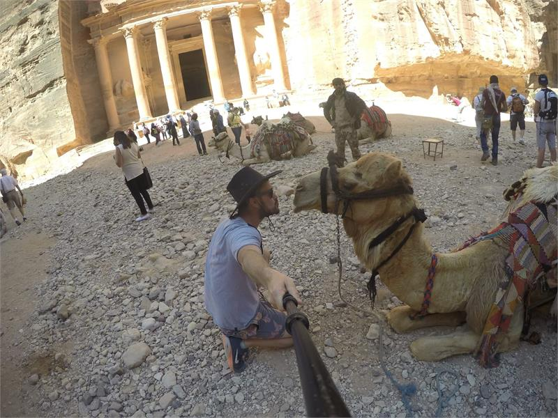 Apr 2020 - Getting up close with the  Petra locals