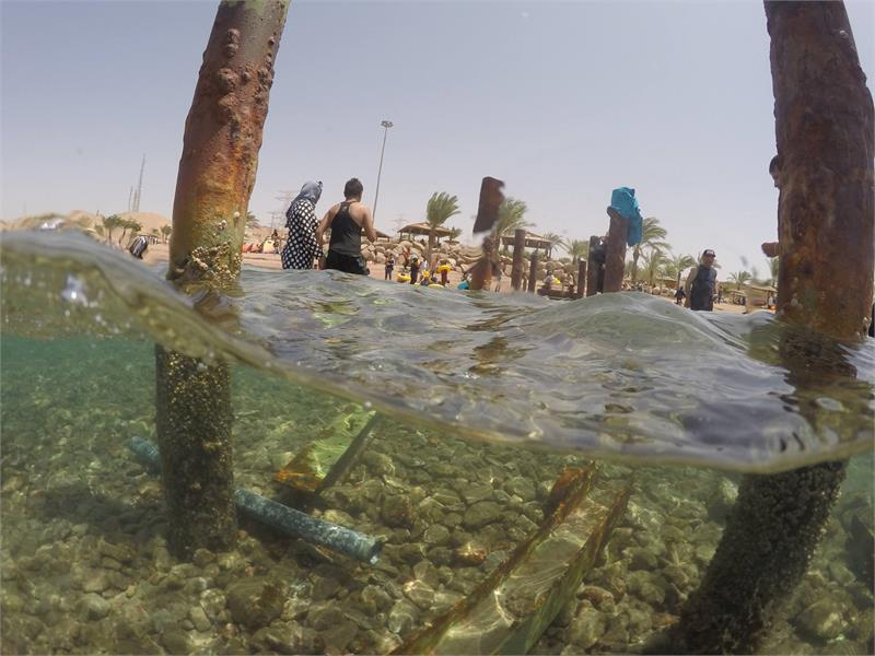 Apr 2020 - Old jetty in the red sea