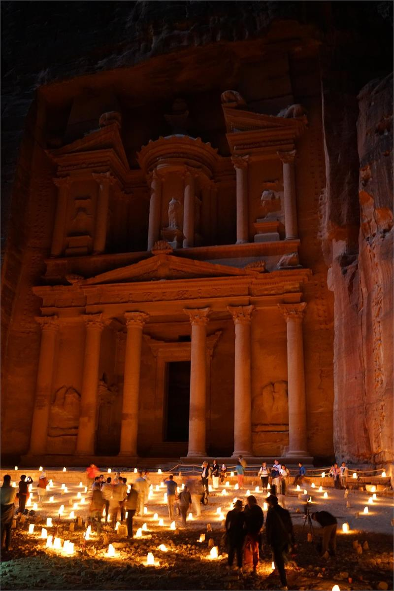 Apr 2020 - Petra by night