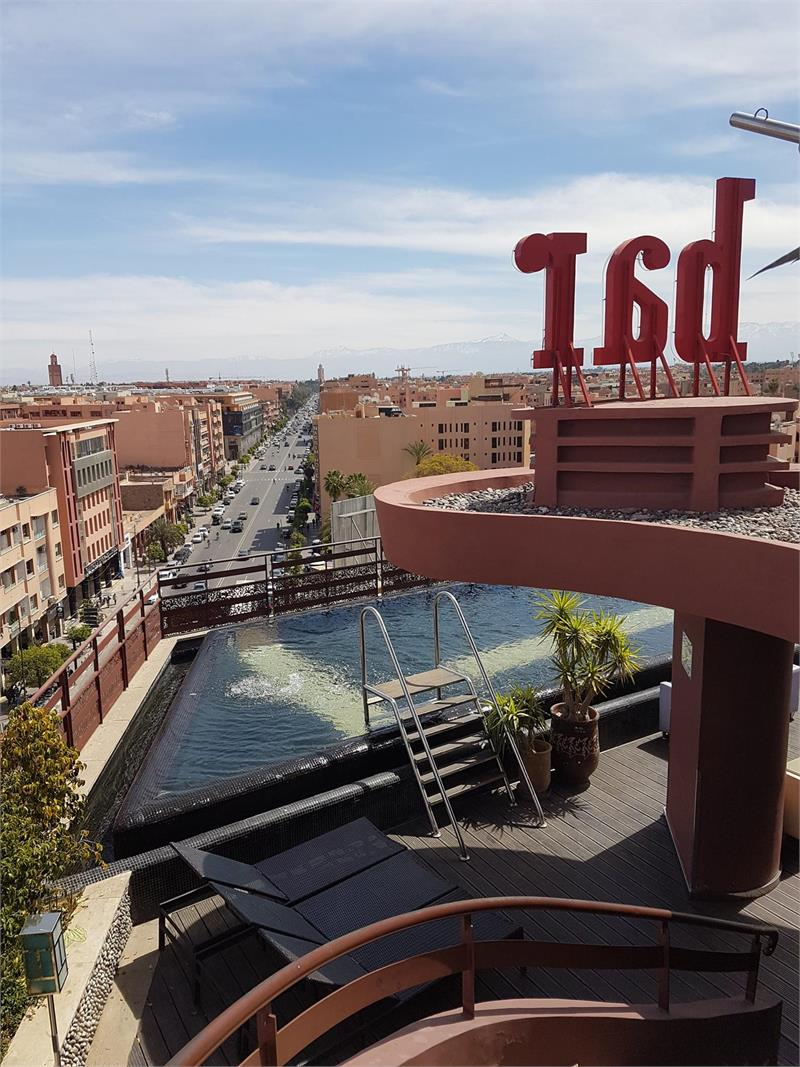 Apr 2020 - Rooftop bar in  Marrakech new town