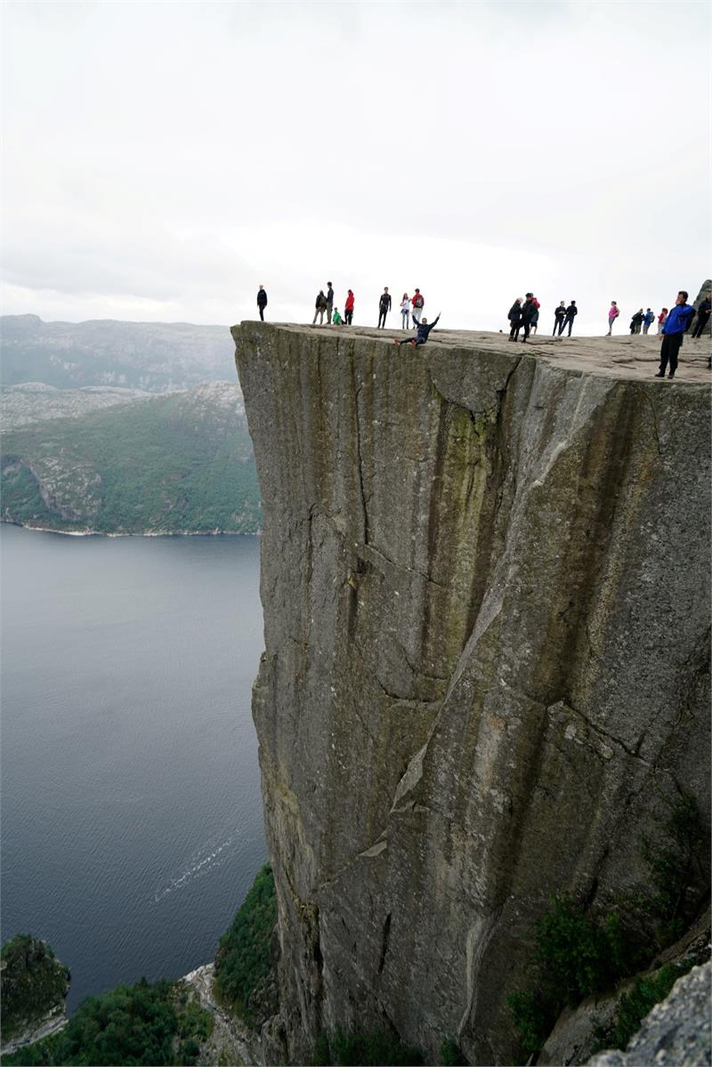 Aug 2016 - Living on the edge in  Norway