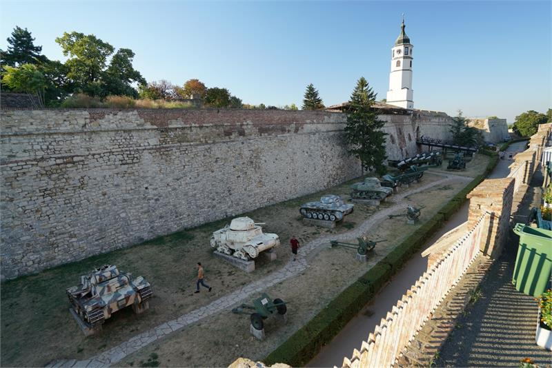 Aug 2017 - Belgrade  Fortress