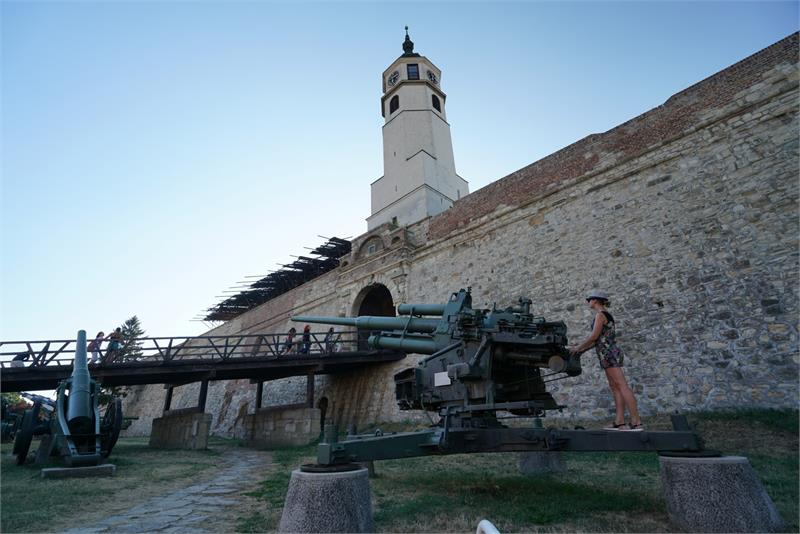 Aug 2017 - Machine gun at  Belgrade  Fortress