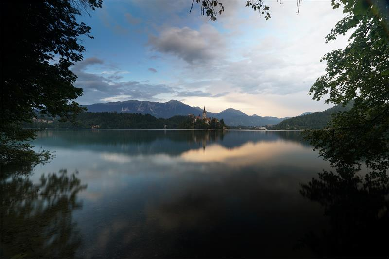 Aug 2017 - Lake  Bled  Sunset